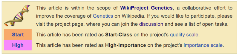 File:WikiProject Genetics rating example.png